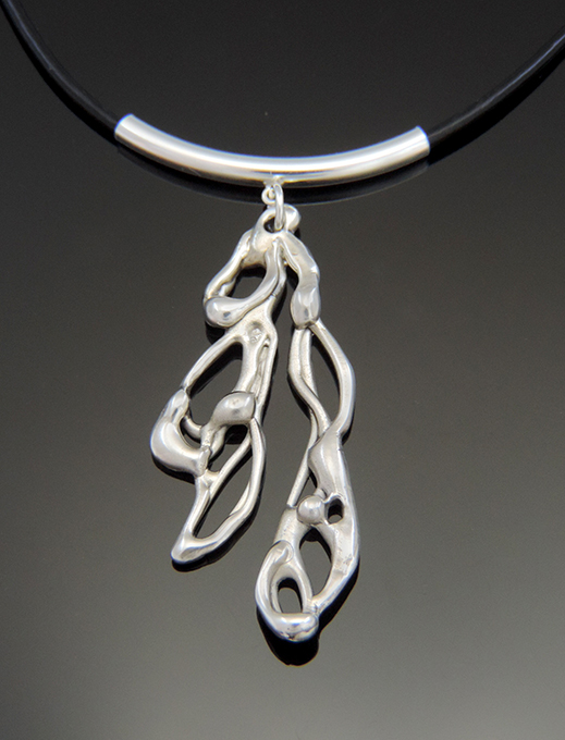"The ""Alice Cocktail"" Sterling Silver Necklace"